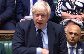 W.Brytania: opozycja pokonała rząd ws. brexitu; Johnson chce wyborów