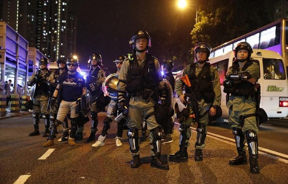 Protestujący w Hongkongu proszą o pomoc kanclerz Merkel
