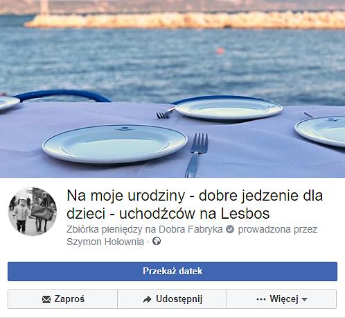 Szymon Hołownia rozbił bank. Od wczoraj zebrał prawie 50 tys. złotych na kilka tysięcy posiłków dla dzieci - zdjęcie w treści artykułu