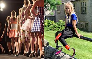 9-latka bez nóg na wybiegu podczas New York Fashion Week. Chociaż wiele przeszła, inspiruje ludzi na całym świecie