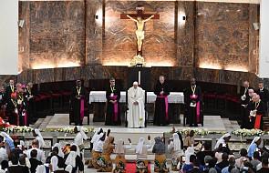 Franciszek zachęcił duchowieństwo Mozambiku do ożywienia swego powołania [DOKUMENTACJA]