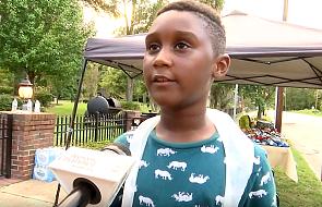 6-latek zrezygnował ze świętowania własnych urodzin. Wybrał pomoc ofiarom huraganu Dorian zamiast wyjazdu do Disney World