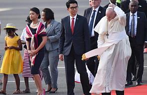"""Papież spotkał się z prezydentem Madagaskaru. """"Przybyłem jako siewca pokoju"""""""