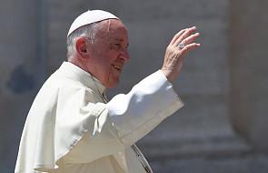 Papież spotkał się z rodziną dotkniętą przez epidemię odry