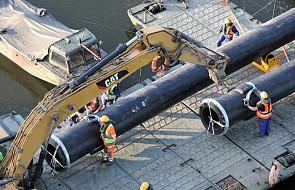 Stolica: w sobotę po południu rozpoczną się próby ciśnieniowe rurociągu na moście pontonowym