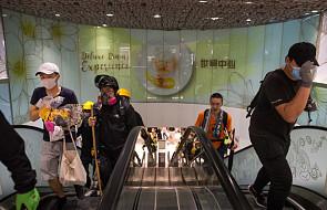 W Hongkongu starcia podczas demonstracji; policja użyła gazu łzawiącego