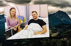 Kasia Olubińska odwiedziła księdza porażonego piorunem. Kapłan opowiedział jej, co wydarzyło się na Giewoncie