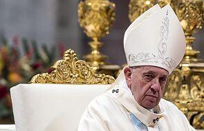 Watykan: papież przeprosił za to, że stracił cierpliwość w sylwestrowy wieczór