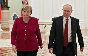 Rosja: rozpoczęły się rozmowy Putin-Merkel, wśród tematów - Iran