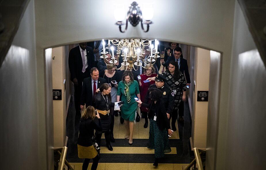USA: w środę głosowanie ws. przesłania artykułów impeachmentu do Senatu