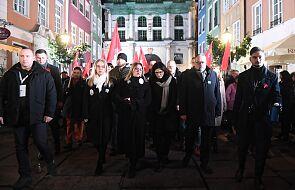 Gdańsk: mieszkańcy miasta uczcili pamięć prezydenta Pawła Adamowicza