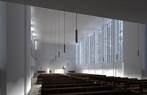 """""""Oaza prostoty"""" czy """"pustostan""""? Dominikanie zaprezentowali nowy projekt kościoła w Katowicach"""