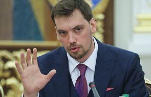 Ukraina: premier Honczaruk złożył na ręce prezydenta podanie o dymisję