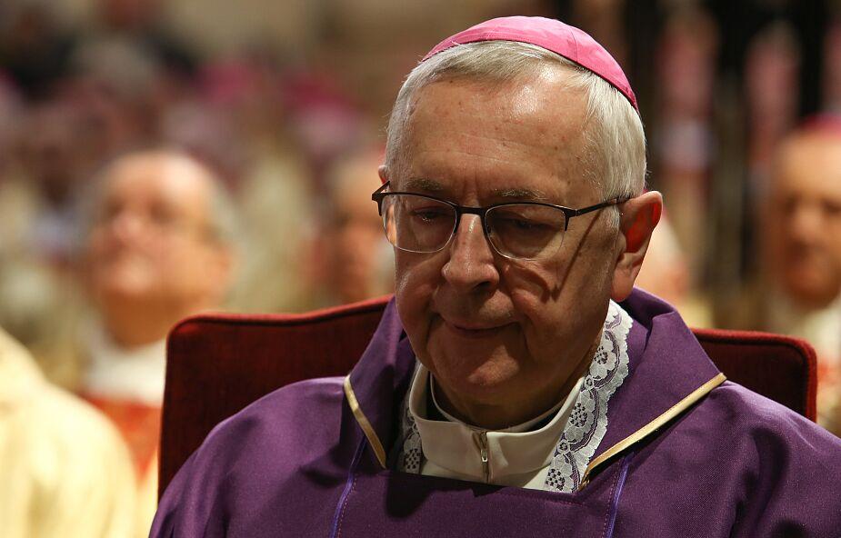 Abp Gądecki dziękuje papieżowi za mszę przy grobie św. Jana Pawła II