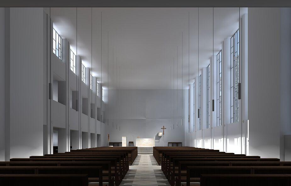 Zhejtowany wystrój kościoła
