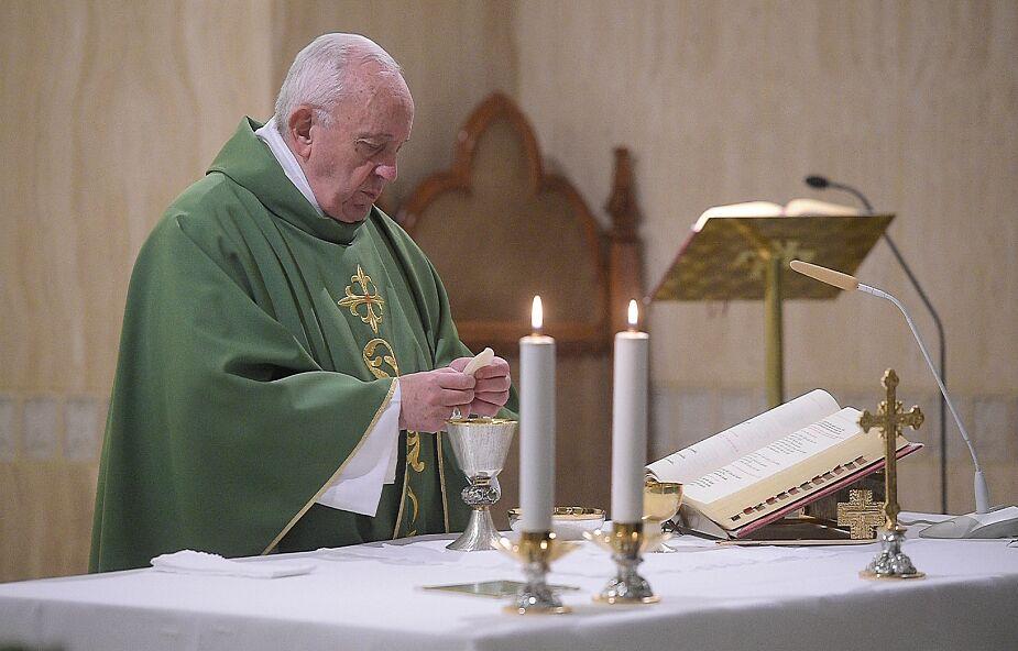 Franciszek u św. Marty: Jezus oddał swoje życie aby cię uzdrowić