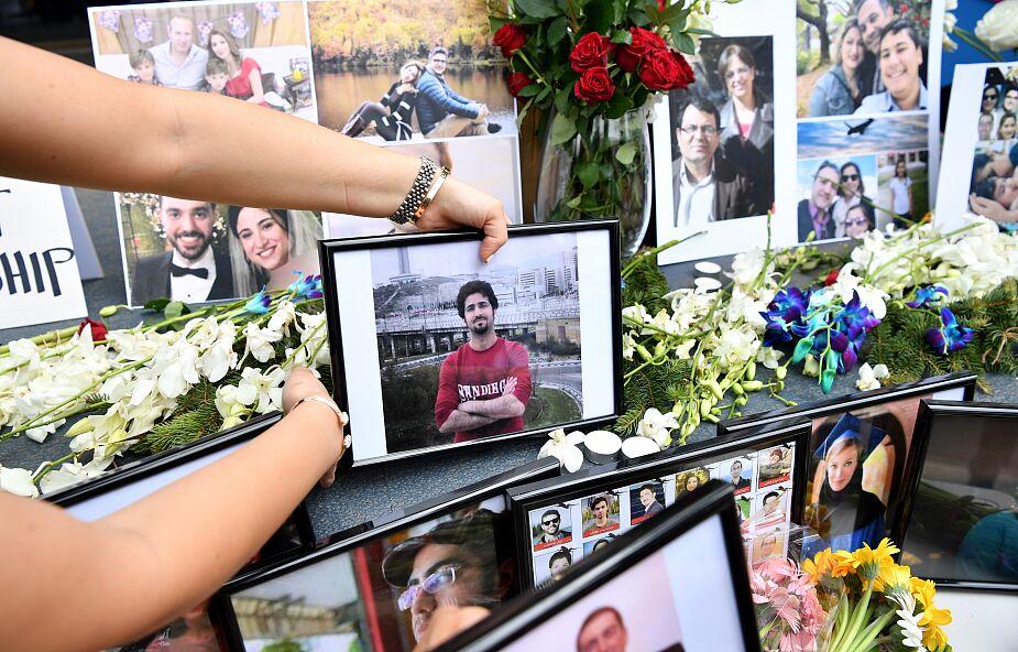 Ukraina: samolot z ciałami ofiar katastrofy w Iranie wylądował pod Kijowem
