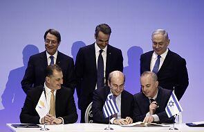 Izrael, Cypr i Grecja zawarły umowę ws. budowy gazociągu EastMed