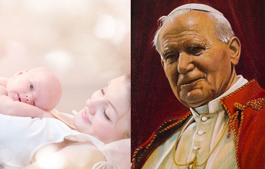 Jan Paweł II uratował nasze dziecko. To był cud! [ŚWIADECTWO]