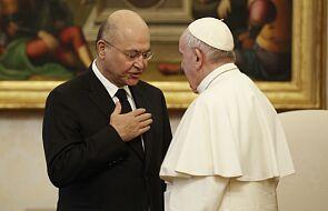 Nadzieje na pokój tematem rozmowy papieża z prezydentem Iraku