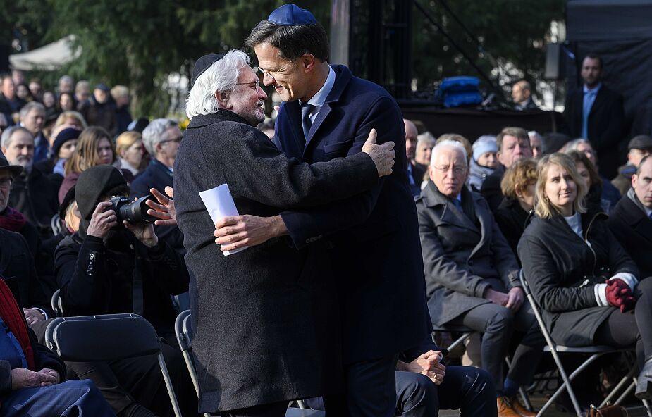 Holandia: premier Rutte przeprasza Żydów za prześladowania podczas wojny
