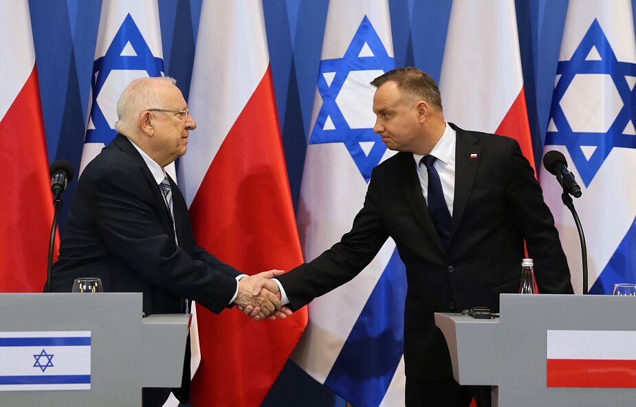Prezydent: z przykrością przyjąłem pominięcie na uroczystości w Yad Vashem udziału Polski w walce przeciw nazistom