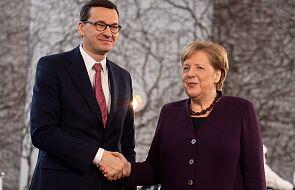 Niemcy: premier Morawiecki spotkał się z kanclerz Merkel
