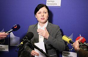 Jourova: musimy uzgodnić, jak sprawić, by polski wymiar sprawiedliwości mógł być godzien zaufania wśród partnerów