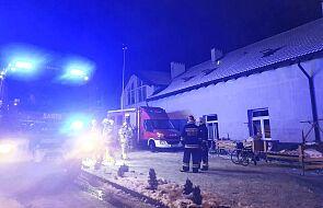 Zaprószenie ognia najprawdopodobniej przyczyną pożaru hospicjum w Chojnicach