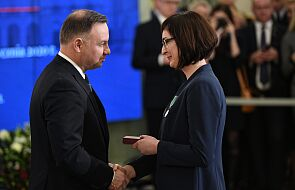 Prezydent wręczył odznaczenia osobom ratującym ludzkie życie