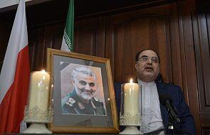Ambasador Iranu w Polsce: zabójstwo Sulejmaniego aktem terroru