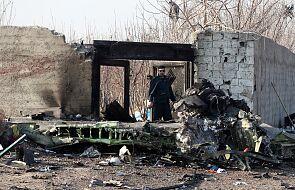 Wstępny raport irańskich śledczych: ukraiński samolot palił się przed katastrofą