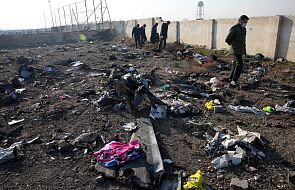Ukraina: śledczy uważają, że samolot UIA mógł być zestrzelony rosyjską rakietą