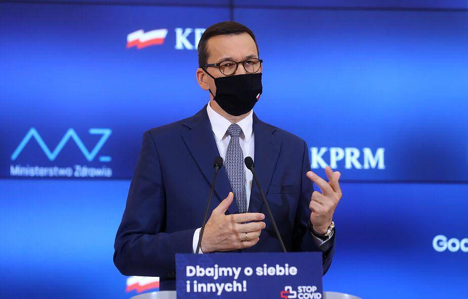 Premier: pod względem zaszczepionych Polska jest na trzecim miejscu w UE