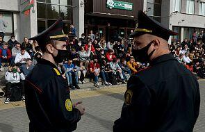 Sankcje na ośmiu urzędników z Białorusi, w tym szefa MSW