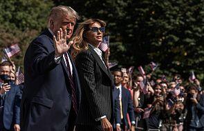 Melania i Donald Trump z pozytywnymi testami na koronawirusa