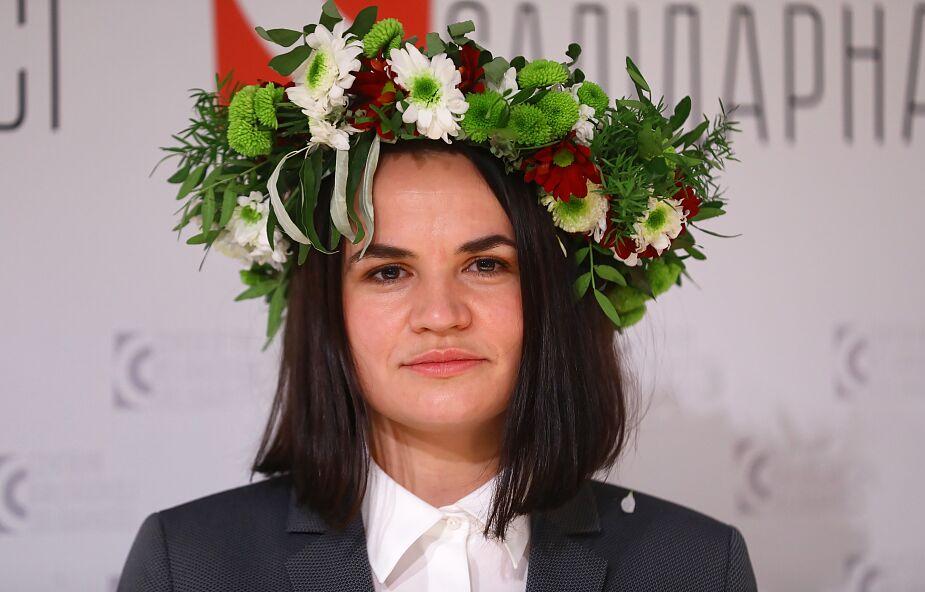 Cichanouska: nie chcemy mieszkać w Polsce kosztem innych, chcemy przynieść korzyść państwu, które nas przyjęło