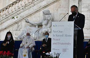 Apel uczestników rzymskiego spotkania: pandemia przypomina nam, że wiąże nas braterstwo krwi
