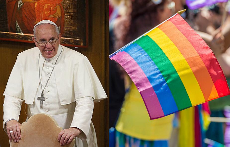 Włoskie media: Franciszek twierdzi, że osoby homoseksualne mają prawo do uznania ich związków