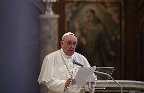 Papież podziękował za otrzymane życzenia