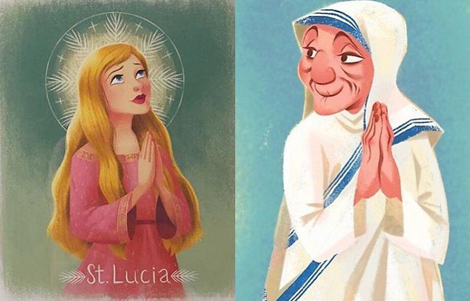 Matka Teresa z Kalkuty jak z bajki Disneya? Poznajcie dziewczynę, która tworzy wyjątkowe wizerunki świętych