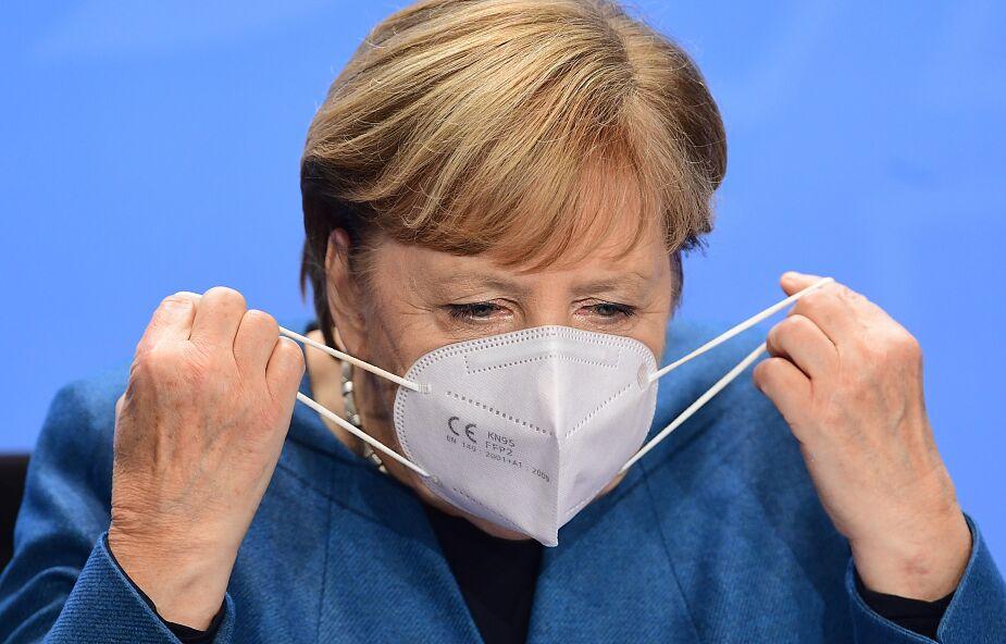 """Angela Merkel zapowiada nowe ograniczenia koronawirusowe: """"musimy działać teraz"""""""