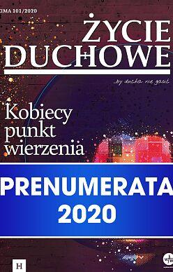Życie duchowe - prenumerata 2020