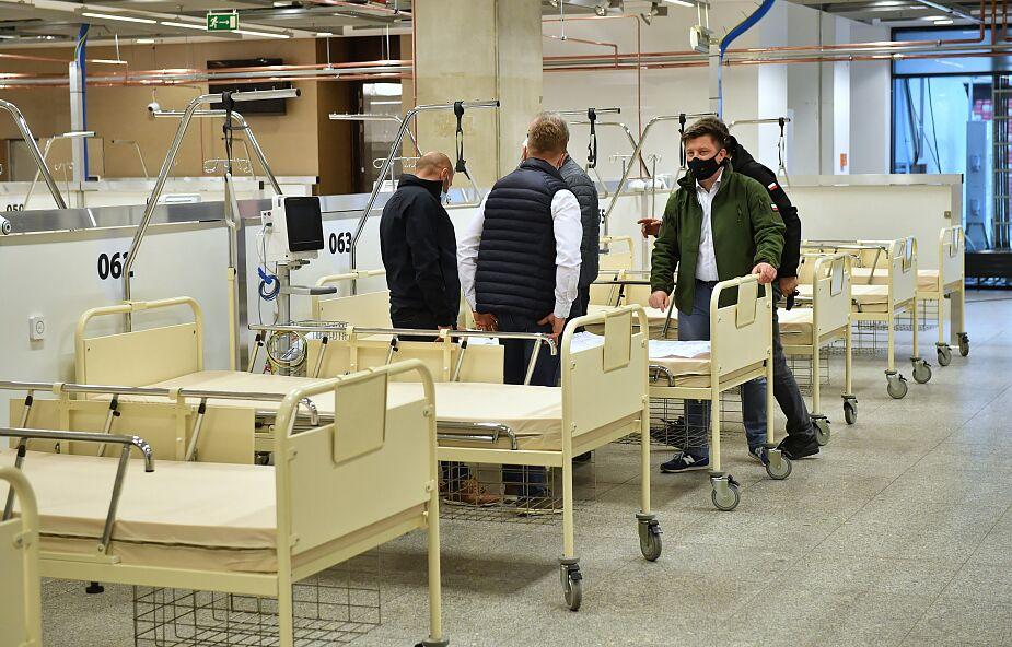 W weekend szpital na Stadionie Narodowym osiągnie gotowość operacyjną