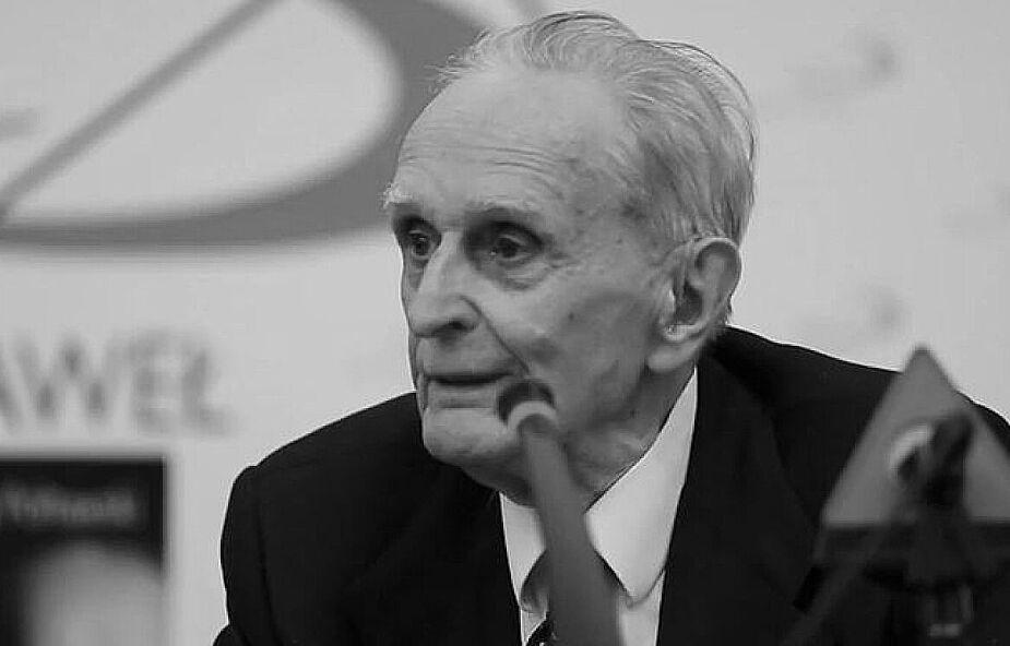 Zmarł prof. Andrzej Półtawski, mąż dr. Wandy Półtawskiej