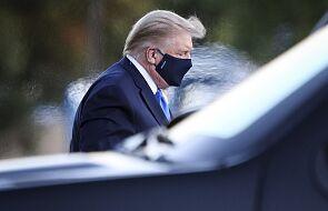 Lekarz Białego Domu: prezydentowi Trumpowi podano lek remdesiwir