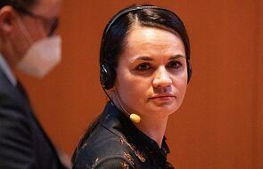 Białoruś: Cichanouska chciałaby spotkać się z Putinem