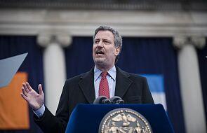 Bill de Blasio: od środy w części Nowego Jorku zamknięte szkoły i firmy