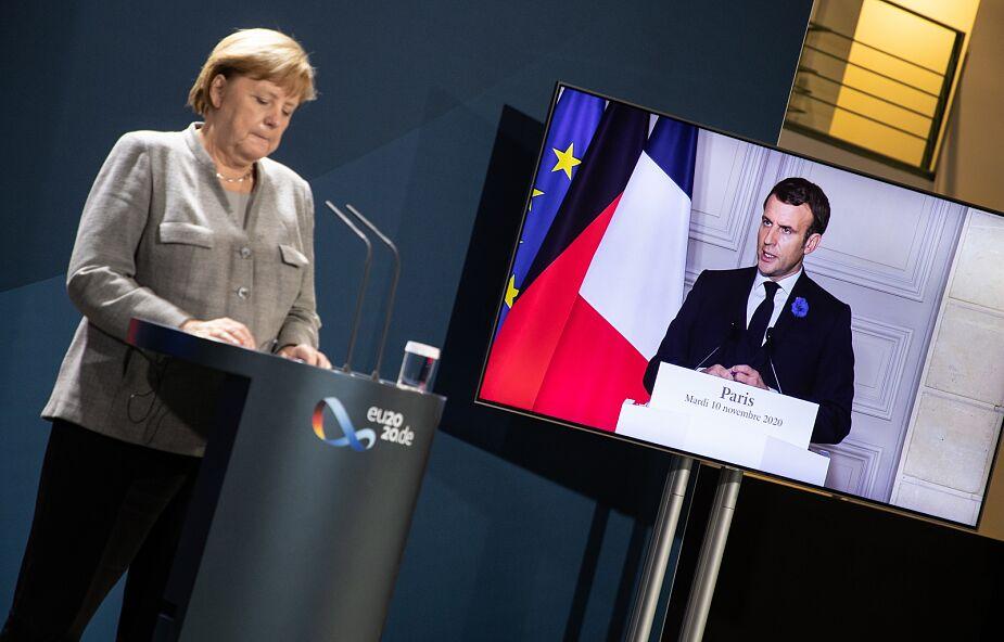 Merkel i Macron: w obliczu zagrożenia terroryzmem musimy wzmocnić bezpieczeństwo Europy