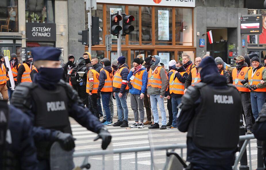 Warszawa: policja wstrzymała ruch między pl. Zawiszy a rondem Waszyngtona